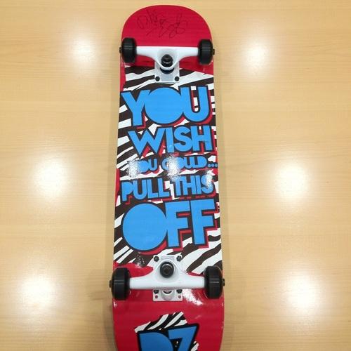 Dolph Ziggler SIGNED Skateboard