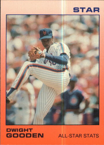 Photo of 1988 Star Gooden Glossy #4 Dwight Gooden/All-Star Stats