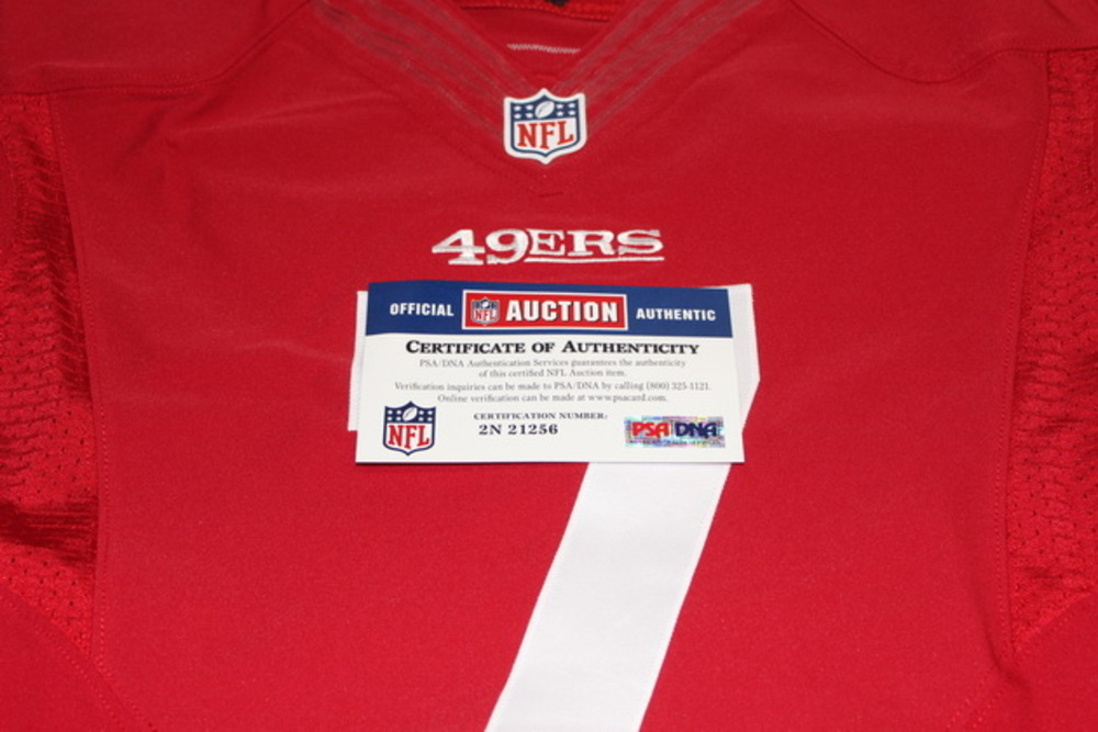 detailed look 6ce3b 77c40 NFL Auction | STS - 49ERS COLIN KAEPERNICK GAME WORN 49ERS ...