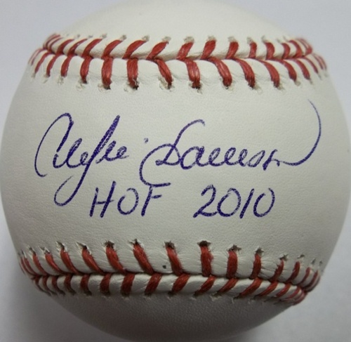 "Photo of Andre Dawson ""HOF 2010"" Autographed Baseball"