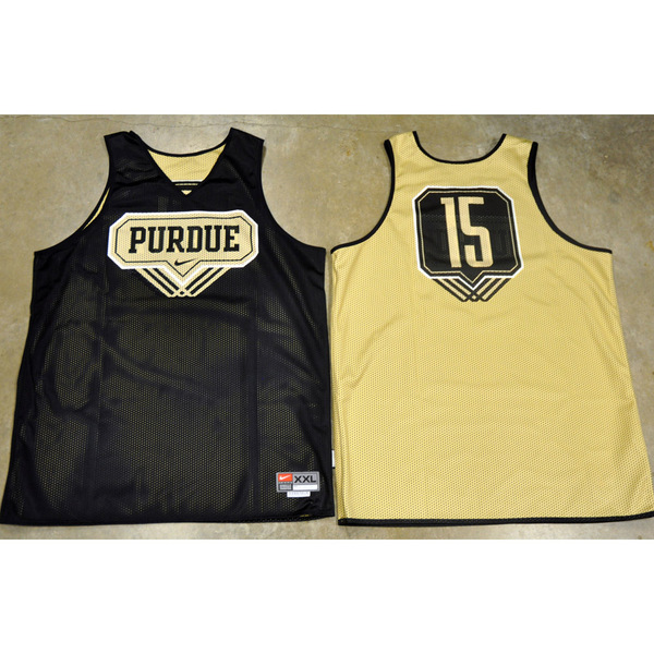 Photo of Nike Men's Basketball Official Practice Jersey // Triple Line // No. 15 // Size 2XL +4 length
