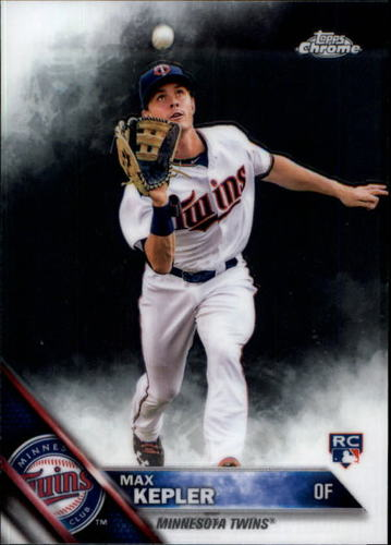 Photo of 2016 Topps Chrome #138 Max Kepler  Rookie Card