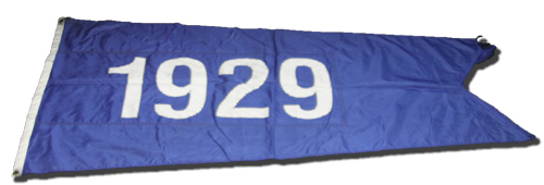 Wrigley Field Collection -- Rooftop Flag -- 1929