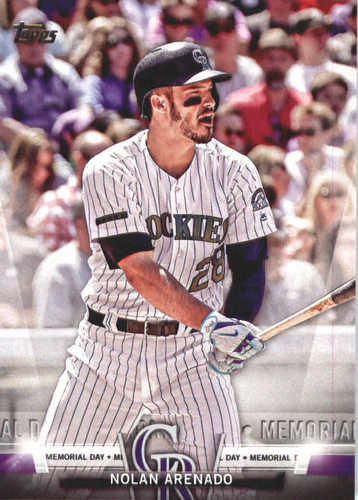 Photo of 2018 Topps Salute #TS46 Nolan Arenado
