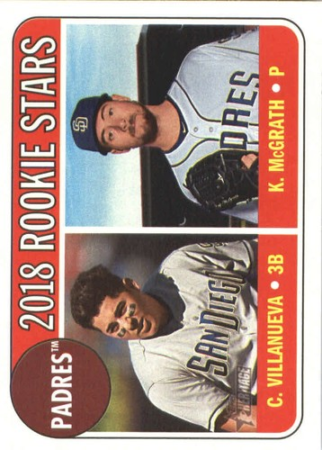 Photo of 2018 Topps Heritage #304 Christian Villanueva RC/Kyle McGrath RC