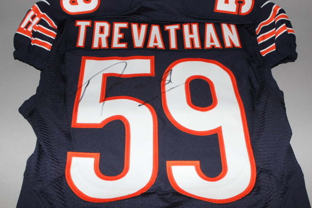 NFL Auction | BCA - BEARS DANNY TREVATHAN SIGNED AND GAME ISSUED ...