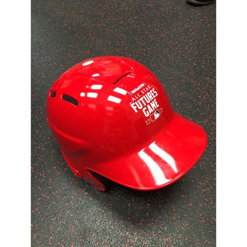 Photo of 2018 MLB Futures Game - Luis Urias Team World Game-Used Helmet