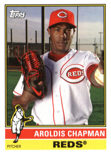 Photo of 2015 Topps Archives #164 Aroldis Chapman