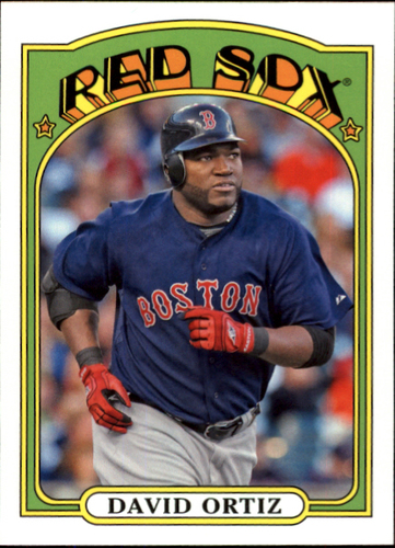 Photo of 2013 Topps 1972 Topps Minis #TM94 David Ortiz