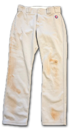 Photo of David Bote Team-Issued Pants -- Size 35-40-32 -- 2019 Season