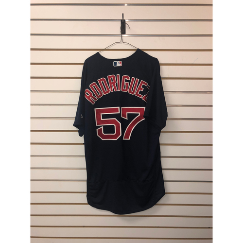 Photo of Eduardo Rodriguez Team Issued 2018 Road Alternate Jersey