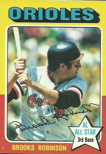 Photo of 1975 Topps #50 Brooks Robinson