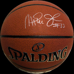 Photo of Magic Johnson Autographed Basketball