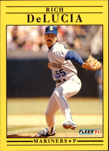 Photo of 1991 Fleer Update #52 Rich DeLucia RC