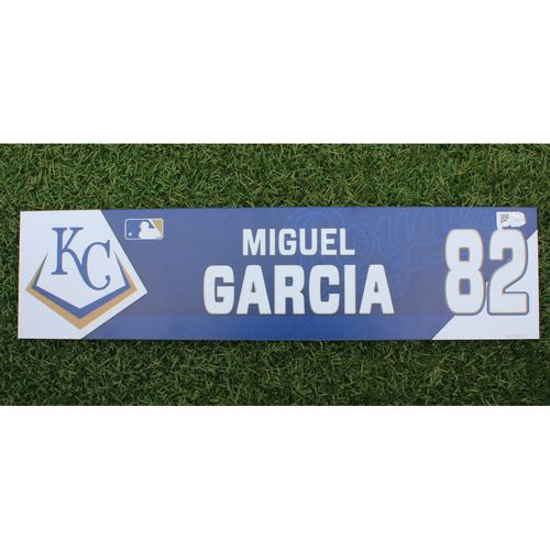Photo of Team-Issued Locker Tag: Miguel Garcia