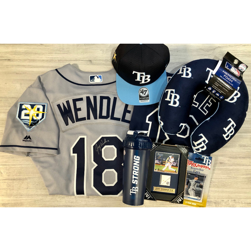 Photo of Rays Baseball Foundation Player Package: Joey Wendle