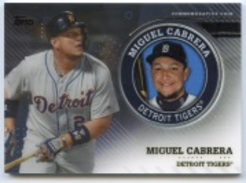Photo of 2020 Topps Player Medallions #TPMMCA Miguel Cabrera