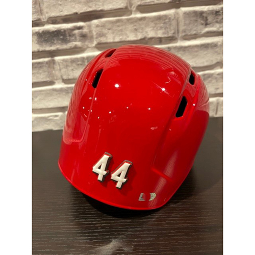 Photo of Team-Issued Helmet -- Left Ear Flap -- Size 7 5/8