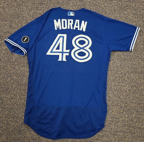 Photo of Authenticated Team Issued Jersey: #48 Brian Moran (2020 Season). Set 1. Size 46.