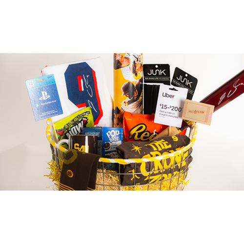 """Photo of Jake Cronenworth """"Favorite Things"""" Basket - Pick-Up Only at Petco Park"""