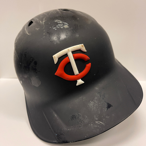 Photo of Minnesota Twins: 2021 Game-used Batting Helmet Josh Donaldson worn on 6/10/2021 for 8th HR of 2021, and on 6/11/2021 for 9th and 10th HR of 2021.