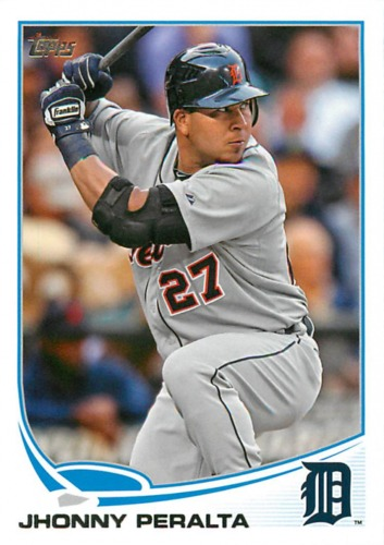 Photo of 2013 Topps #327 Jhonny Peralta