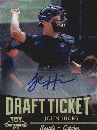 Photo of 2011 Playoff Contenders Draft Ticket Autographs #DT52 John Hicks
