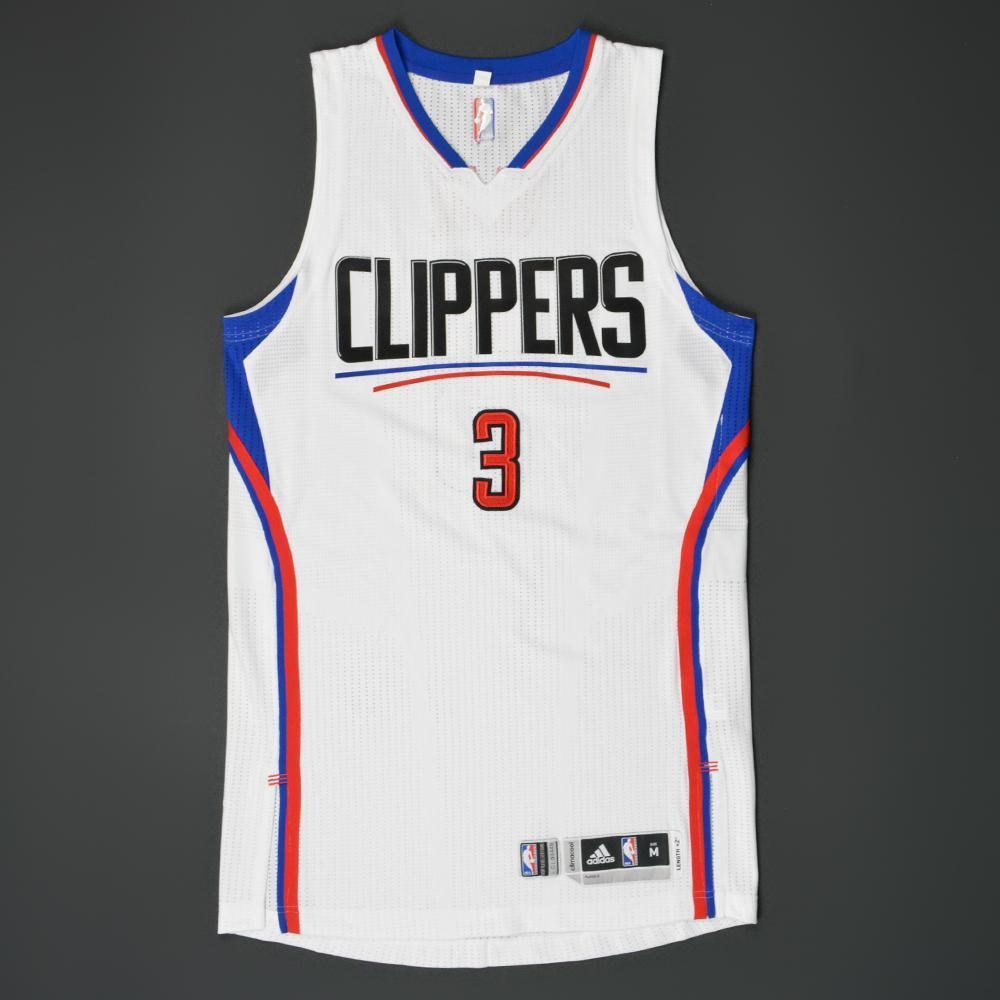 b53bbd760a2 Chris Paul - Los Angeles Clippers - Game-Worn Jersey - 2015-16 Playoffs