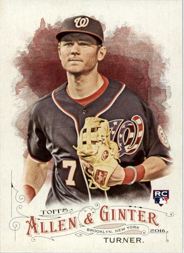 Photo of 2016 Topps Allen and Ginter #300 Trea Turner RC