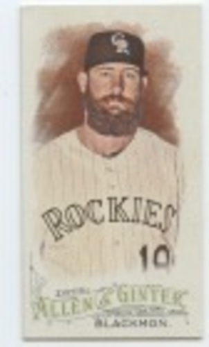 Photo of 2016 Topps Allen and Ginter Mini #25 Charlie Blackmon