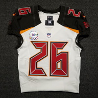 CRUCIAL CATCH - BUCCANEERS JOSH ROBINSON GAME ISSUED BUCCANEERS JERSEY (OCTOBER 29, 2017) SIZE 40