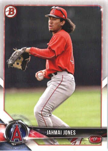 Photo of 2018 Bowman Prospects #BP144 Jahmai Jones