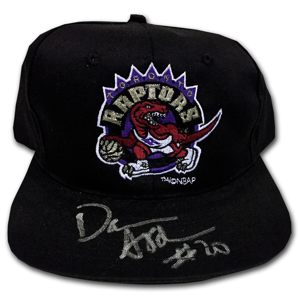 Damon Stoudamire Autographed Toronto Raptors Hat