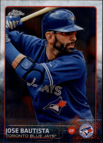 Photo of 2015 Topps Chrome #137 Jose Bautista