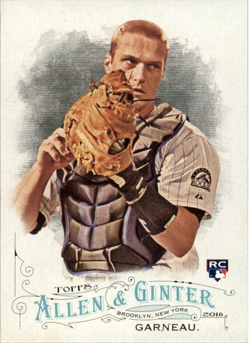 Photo of 2016 Topps Allen and Ginter #79 Dustin Garneau RC