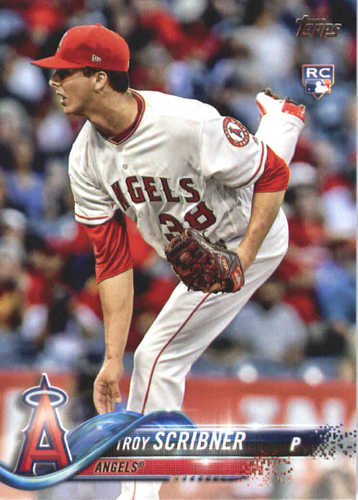 Photo of 2018 Topps #440 Troy Scribner RC