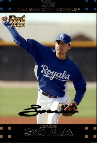 Photo of 2007 Topps Update #180 Joakim Soria Rookie Card