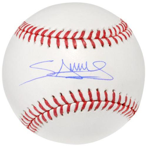Photo of Minnesota Twins Autographed Baseball - Miguel Sano