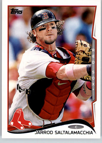 Photo of 2014 Topps #48 Jarrod Saltalamacchia