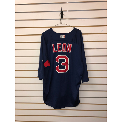 Photo of Sandy Leon Team Issued Road Batting Practice Jersey