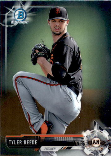 Photo of 2017 Bowman Chrome Prospects #BCP57 Tyler Beede
