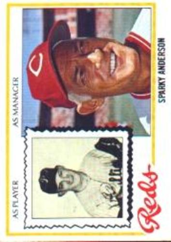 Photo of 1978 Topps #401 Sparky Anderson MG