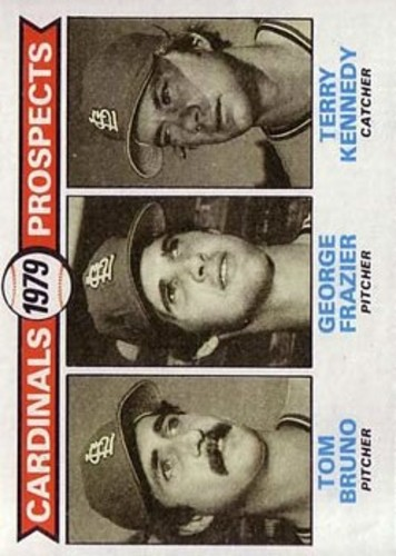 Photo of 1979 Topps #724 Tom Bruno RC/George Frazier RC/Terry Kennedy RC
