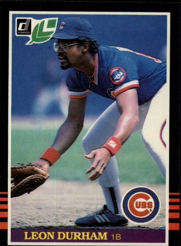 Photo of 1985 Leaf/Donruss #238 Leon Durham