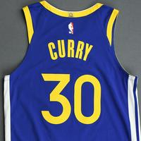 Stephen Curry - Golden State Warriors - Game-Worn Icon Edition Jersey - Scored a Game-High 23 Points - 2019-20 Season