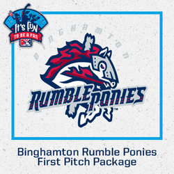 Photo of Binghamton Rumble Ponies First Pitch Package