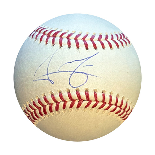 Photo of Autographed Baseball: Jeison Guzman