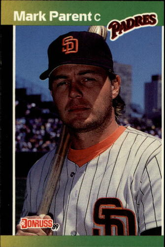 Photo of 1989 Donruss #420 Mark Parent RC
