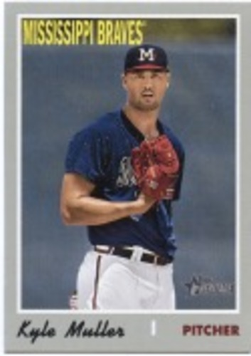 Photo of 2019 Topps Heritage Minors #135 Kyle Muller