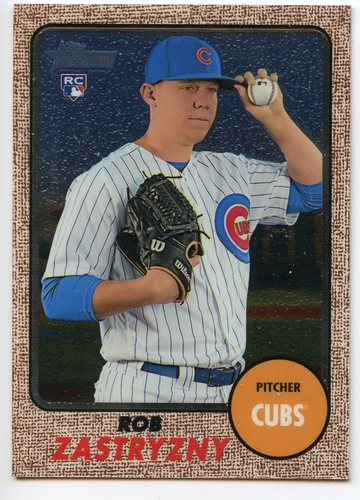 Photo of 2017 Topps Heritage Chrome #THC537 Rob Zastryzny
